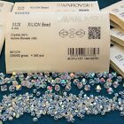 Swarovski Crystal Bicone Beads 5328 CRYSTAL AB Choose 72 PC or Factory Pack