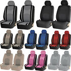 4pc Mesh Truck Honeycomb Front Low Back Pair Seat Covers Set Universal