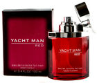 Yacht Man Red Cologne by Myrurgia 3.4 oz EDT Spray for men Brand New