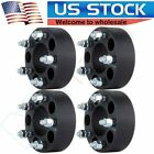 4Pcs 15 5x45 Black Wheel Spacers Fits Jeep KK KJ XJ YJ TJ Wrangler MJ