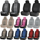 Mesh Honeycomb Van Front Low Back Pair Seat Covers Set Universal 4pc