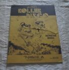 1980 GOTTLIEB ROLLER DISCO PINBALL MANUAL