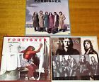 Foreigner Head Games Double Vision 3 CDS Album Set 1978 Mick Jones Made In EU