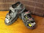 Disney Cars toddler boys shoes sandals light up size 11 Lighting McQueen F7