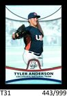 1-2010 BOWMAN PLATINUM THICK REFRACTOR TYLER ANDERSON ROCKIES 443/999