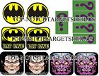 SEGA BATMAN Pinball Target Cushioned Decals