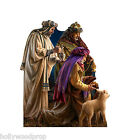 CHRISTMAS NATIVITY 3 WISE MEN DONA GELSINGER LIFESIZE STANDUP STANDEE CUTOUT NEW