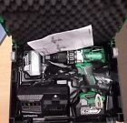 BRAND NEW UK HITACHI 18v BRUSHLESS COMBI DRILL DV18DBXL - 6AH 6AMP BATTERIES