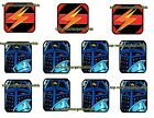 BLACK KNIGHT 2000 Pinball Cushioned Target Protectors