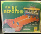 1975 Ideal The Junk Yard Target Pinball Game in French English Box - Rare Colors