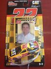 SCOTT WIMMER 2004 PREVIEW CAT CAR w ROOKIE STRIPES CARD RACING CHAMPIONS 1/64