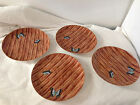 FLOYD BUTTERFLY BAMBOO  SALAD PLATE 7.75