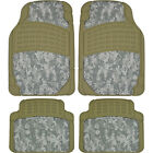 Digital Camo Hunting Camouflage Front Rear Rubber Car Auto Floor Mats Set