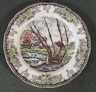 Johnson Brothers The Friendly Village (Made In China) Salad Lunch Plate New