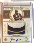 2010-11 National Treasures Trevor Booker RPA RC 4-Color Patch AUTO 99