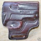 vintage MITCH ROSEN HOLSTER 1 2 228 MAHOGANY COLOR MADE IN USA FREE SHIP USA