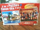 2 in 1 Jigsaw Puzzles 480 Pieces
