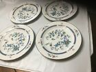 Set Of 4 Noritake Fine China Shangri-La Pattern 2363 Dinner Plate Set