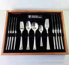 Vintage Drayton Silverplate Cutlery Dinner Forks Soup/Dessert Spoons 27 Pc Set