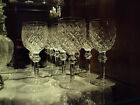 Waterford Irish Crystal Powerscourt Hock Glasses (8) Original Made in Ireland