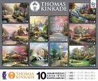 10 in 1, 100/300/500 Pieces Thomas Kinkade Puzzle