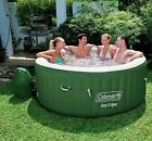 Durable Inflatable Hot Tub Pool Spa Portable Cushion Relaxing Outdoor -Massage