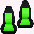 Cc To Fit 1991-2001 Ford Explorer Front Set Car Seat Covers Two Tone 23 Colors