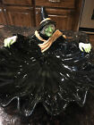 Rare Retired 1987 Fitz and Floyd Halloween Witch Bowl