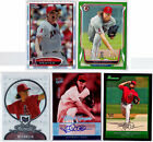 JERED WEAVER 2006 2007 FLEER ULTRA (5) LOT # 150 AUTOGRAPH AUTO BOWMAN STERLING!