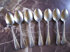 DEBESCO Stainless Nickel Silver Sheffield DESSERT SPOONS x 7