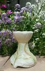 Belleek Fine Parian China Tulip top with leaves Vase 6th mark Ireland MINT RARE