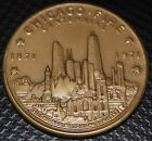 CHICAGO FIRE CENTENNIAL 1971 CHICAGO HISTORICAL SOCIETY 39mm by T A ROVELSTAD!!!