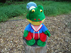 Vintage 14 Shalom Toy Co SAILOR FROG TOAD plush stuffed animal toy