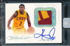 2012-13 PANINI FLAWLESS KYRIE IRVING AUTO GOLD SPOKESMAN 2 COLOR RC PATCH #01 10