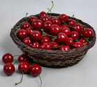 50 Artificial Cherry Fake Fruit faux food Model House Kitchen Party Decorative