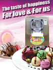 hard ice cream machine,electric thail ice cream making machine with mixer,20L/H