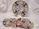 The Imari Style Porcelain Wall Plate Plaque Made In Japan Set  10