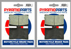MZ 660 (MUZ) Skorpion Replica 1997 Front Brake Pads (2 Pairs)