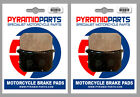 Kawasaki Z 750 LTD Twin 1982 Front Brake Pads (2 Pairs)