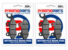 Kymco 150 Grand Dink 2002 Front & Rear Brake Pads Full Set (2 Pairs)