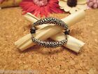 BRIGHTON Silver Oval Scroll Ponytail Holder Bracelet Hair Jewelry Accessory