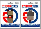 Scorpa TY-S 125 F Trial 2006 Front & Rear Brake Pads Full Set (2 Pairs)