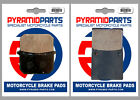 Kawasaki Z 1100 ST 1981 Front & Rear Brake Pads Full Set (2 Pairs)
