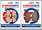 Highland 450 MX 2006 Front & Rear Brake Pads Full Set (2 Pairs)