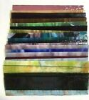 8X2 20 Pieces Mixed Color Stained Glass Sheets Mosaic Tile Panels