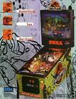 1997 SEGA LOST WORLD JURASSIC PARK PINBALL FLYER