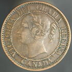 1859 Canada Large 1 One Cent Sharp High Grade Coin 4753