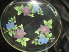 LARGE CHANCE GLASS CLEMATIS BOWL 11.75