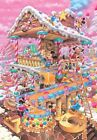 Disney Jigsaw Puzzle 1000 Pieces Mickey Sweets House Tenyo Japan