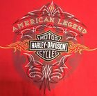 HARLEY DAVIDSON OF GRAND CAYMAN Red T SHIRT MENS Medium excellent condition